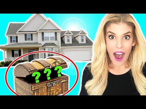 We Found a Hidden Mystery TREASURE BOX in my HOUSE!