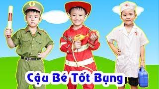 Ước Mơ Của Bé Giúp Đỡ Mọi Người | Baby's dream is to help people ♥ Min Min TV Minh Khoa