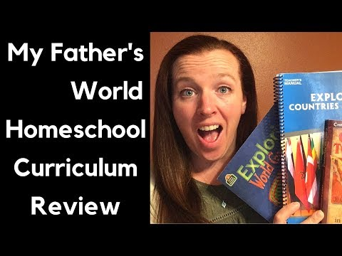 Homeschool Curriculum Review 2018: My Father's World