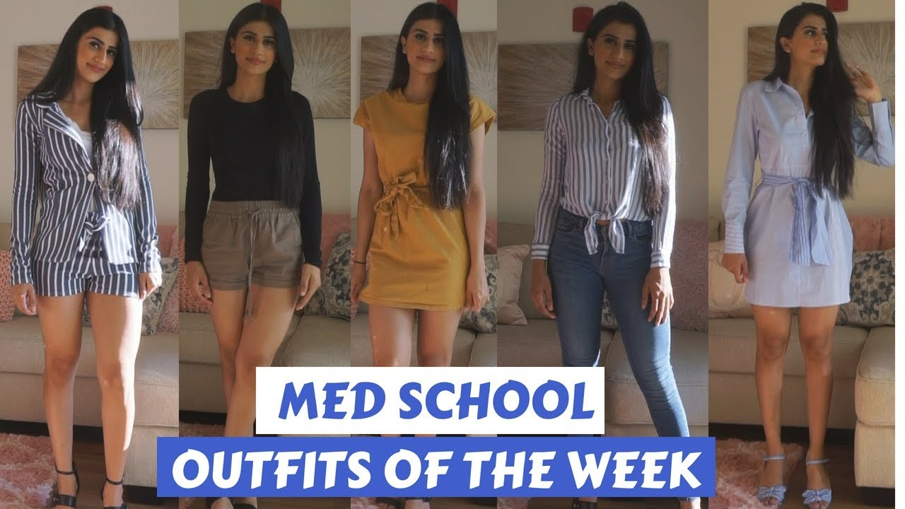 WHAT I WEAR TO MEDICAL SCHOOL  OUTFITS OF THE WEEK
