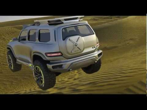 Mercedes-Benz Ener-G-Force HD Trailer