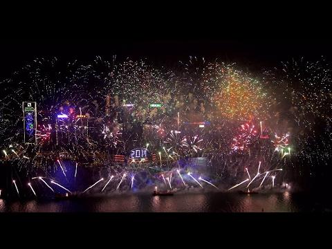BOCHK Hong Kong New Year Countdown Celebrations 2017 Highlights