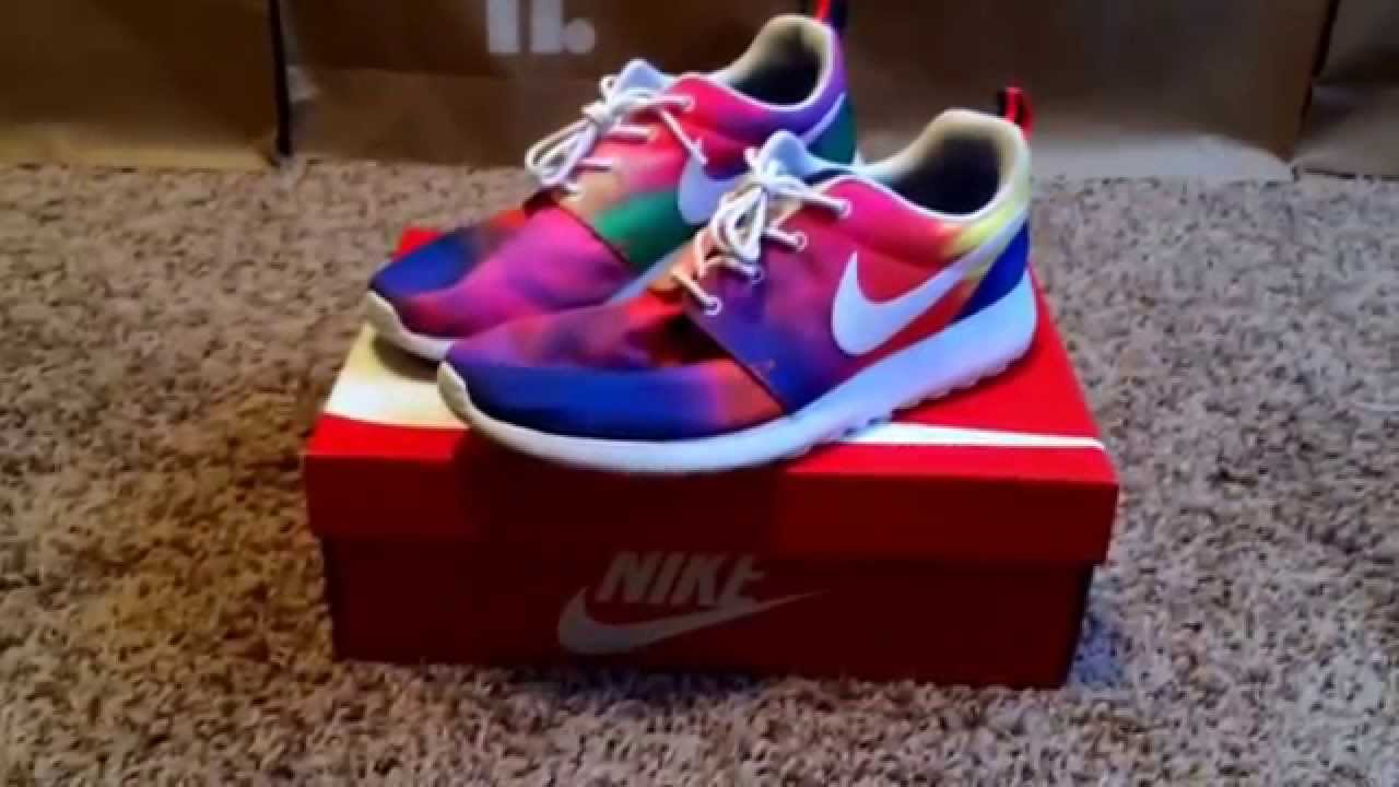 new products bf82c 8c6ae Nike Roshe Run Tye Dye   Tie Dye (Unboxing)   (Review) (HD) - YouTube