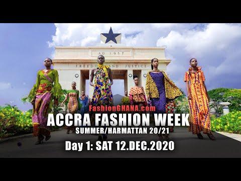 Accra Fashion Week SH20/21: Day 1 - Full Show