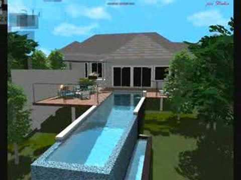3d pool designs fran youtube for 3d pool design brisbane