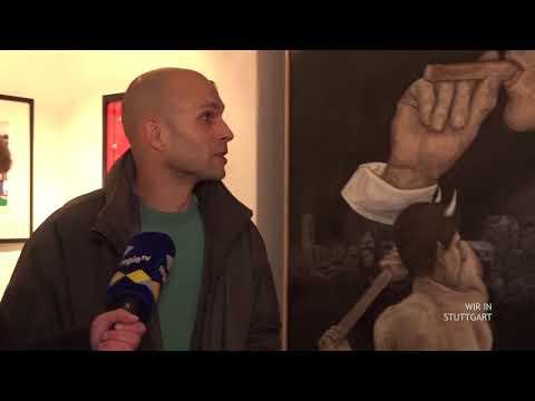 Kunst gegen Rechts + Zweite Chance für Langzeitarbeitslose   Wir in Stuttgart vom 6.2.2018