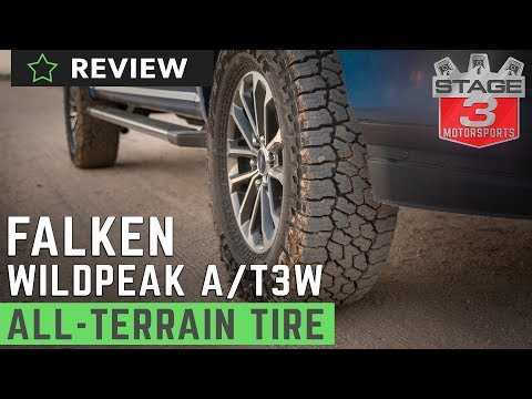 Falken WildPeak All-Terrain A/T3W Off-Road Tire Highway & Off-Road Review LT275/70R18