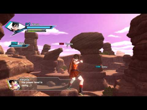 Dragon Ball: Xenoverse Multiplayer Lobby