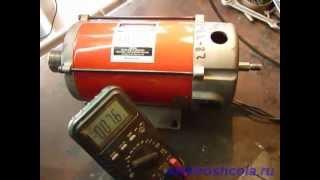 Короткое замыкание обмотки якоря электродвигателя(, 2012-05-17T16:27:44.000Z)