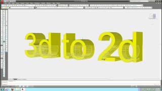 DWG to DXB - 3D model view in 2D drawing - 3D to 2D - AutoCAD Tips & Tricks
