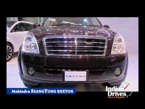 Mahindra Ssangyong Rexton SUV First Look | Walkaround Video