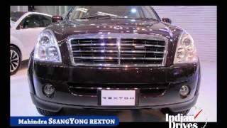 Mahindra Ssangyong Rexton SUV First Look | Walkaround Video