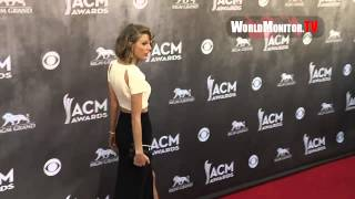 Taylor Swift arrives at 49th Annual Academy Of Country Music Awards Redcarpet