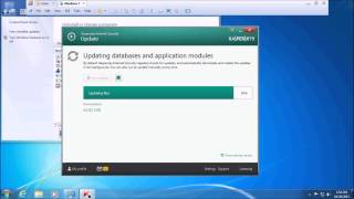 Kaspersky: Databases have not been updated for a long time.  Solution