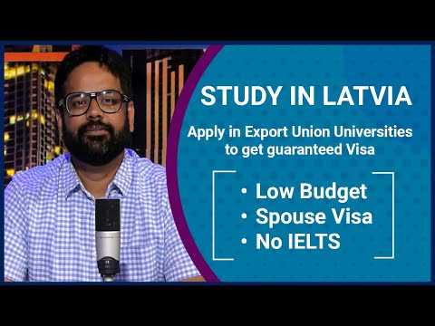 Study in Latvia: Authentic tie-ups with Latvian Universities