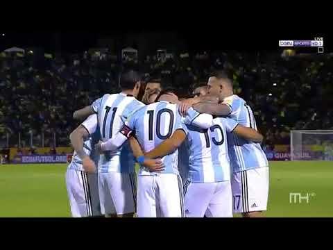 Équateur vs Argentine (1-3) - Résumé du match et tous les buts