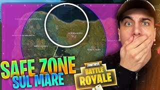SAFE ZONE in MARE! Partita TROLL + VITTORIA REALE! Fortnite Battle Royale ITA!