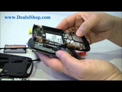 Blackberry Torch 9800 Disassemble Guide