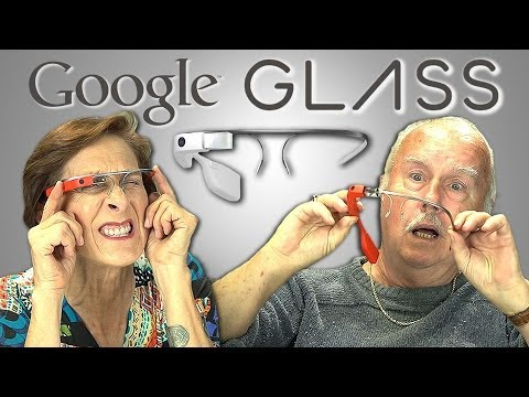 Thumbnail: ELDERS REACT TO GOOGLE GLASS