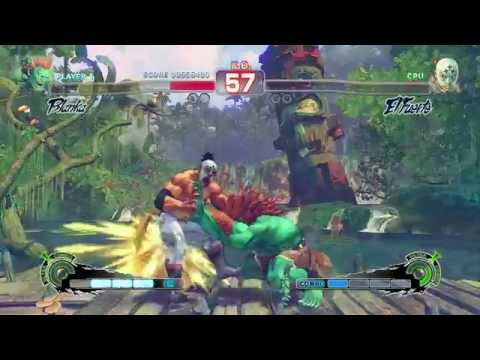Ultra Street Fighter IV (Xbox 360) Arcade as Blanka