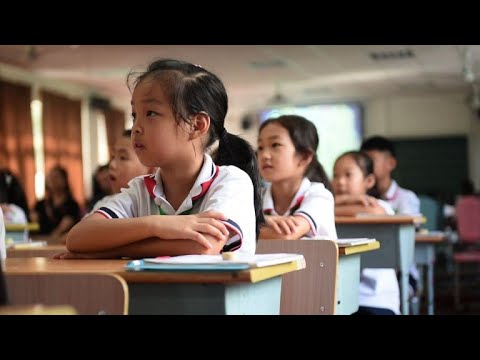 Shanghai schools fly the flag for China's next generation