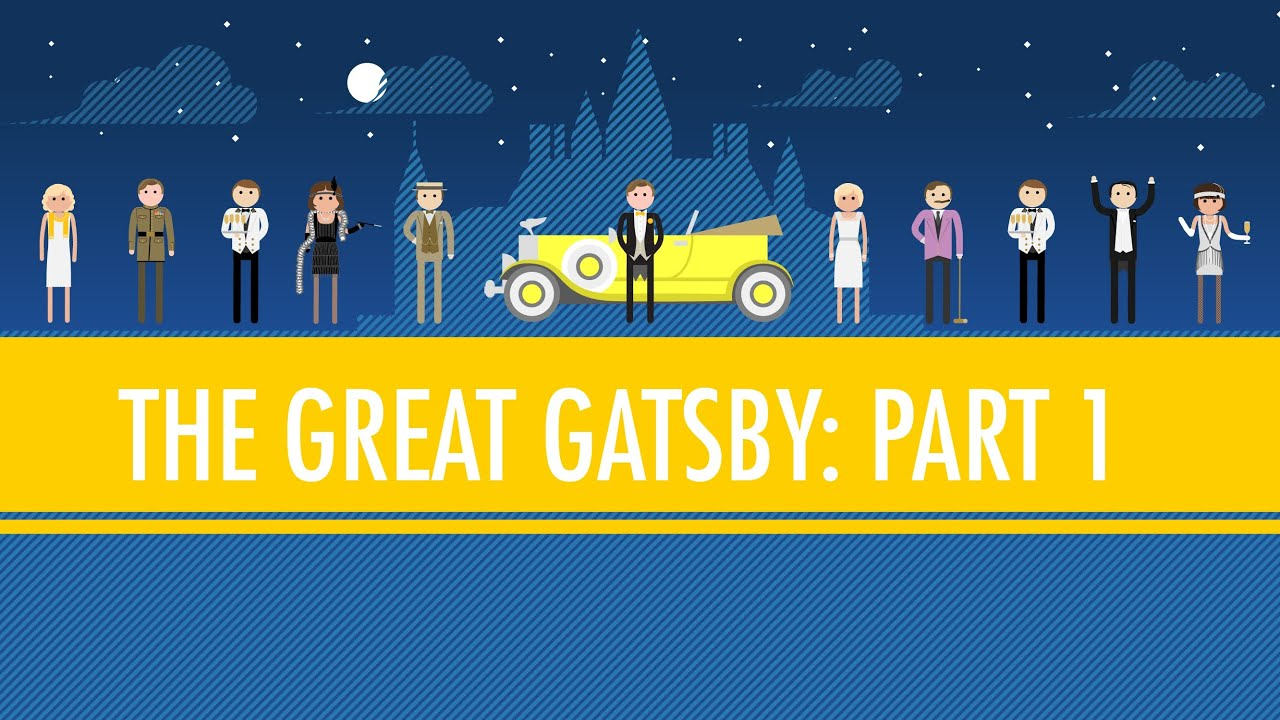 Like Pale Gold The Great Gatsby Part I Crash Course English