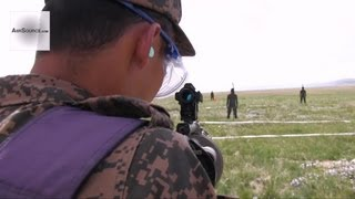 Non-lethal Live Fire - U.S. Marines, Mongolian Armed Forces in NOLES. 3/3