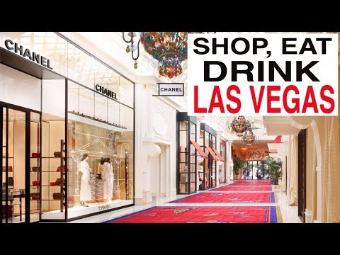 Shop With Me In VEGAS!! Eat and Drink too!