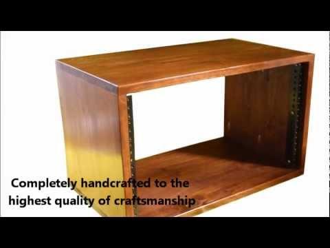 Handcrafted Recording Studio Equipment Racks
