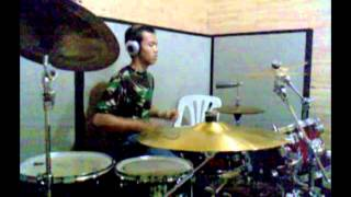 Drum Cover by Ergi (Coklat - Bendera New Version)