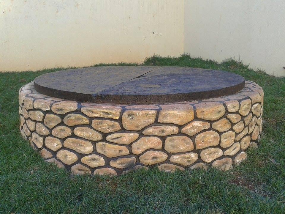 Como fazer pedras decorativas com cimento!  YouTube