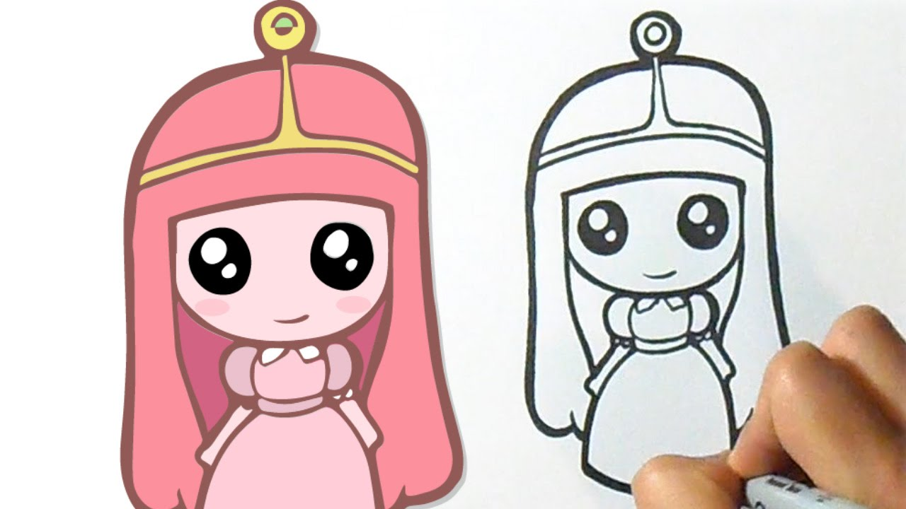 how to draw cute princess
