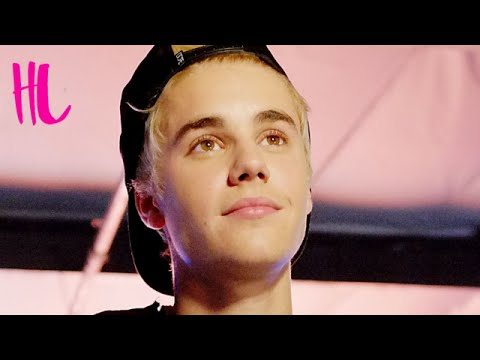 Justin Bieber Shows Off ANOTHER New Song & Purple Hair Makeover