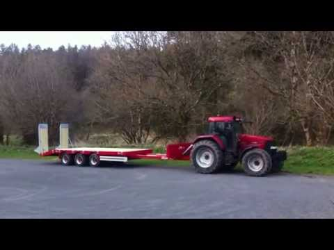 Be-All Agri Multitask extending low loader