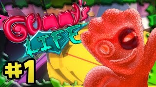 A Gummy's Life - #1 - Murdering the Sour Patch Kids (4 Player Gameplay)