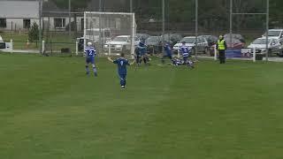 Daniel Stewart scores to make it Newtonmore 0 Kilmallie 2 on 2nd March 2019  Mowi Premiership