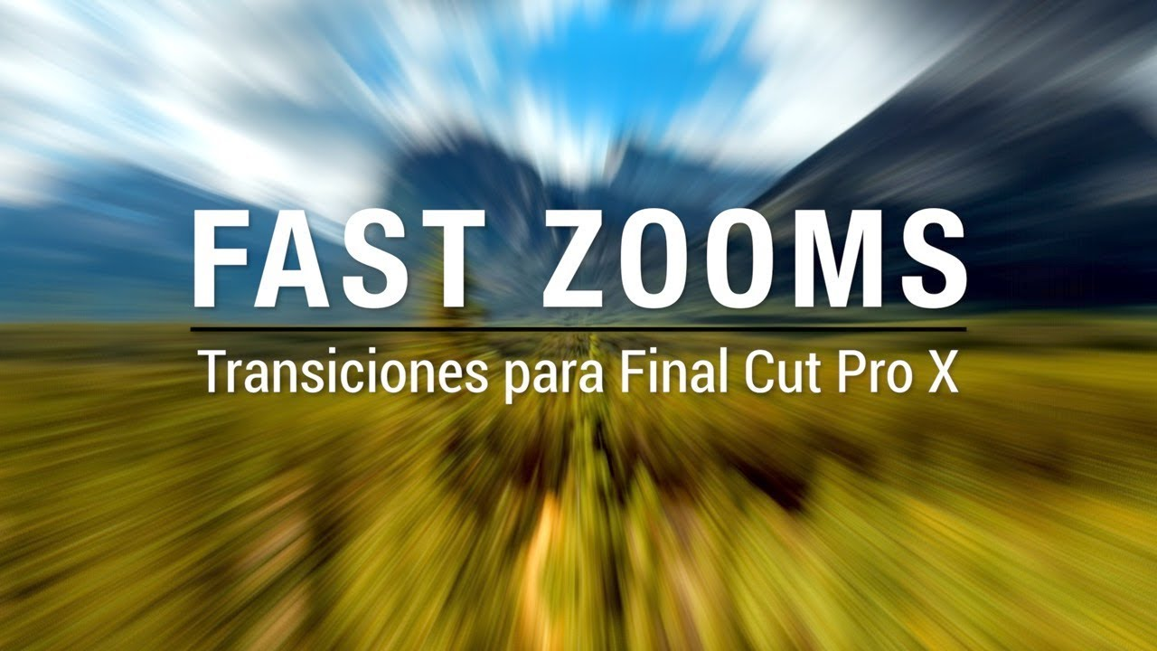 Pack De Transiciones Para Final Cut Pro X Transiciones Zoom Youtube