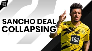 Sancho Deal Collapsing?! | News From Old Trafford