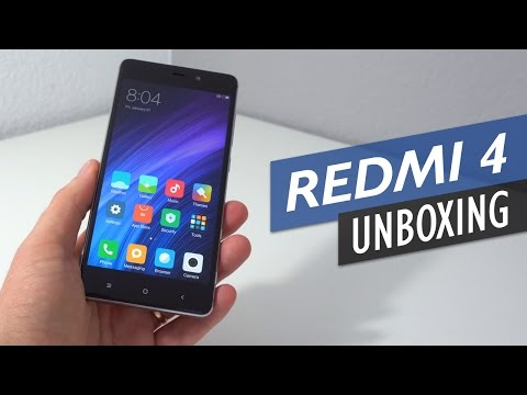 Xiaomi Redmi 4 Prime Unboxing With Detailed First Look