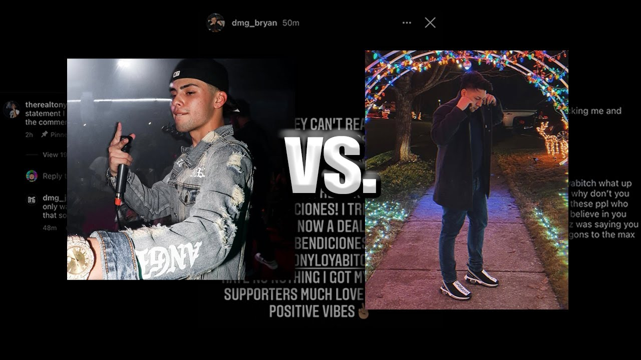 Download TONY LOYA goes at it with DMG BRYAN ONCE AGAIN!? *asking for the statements*