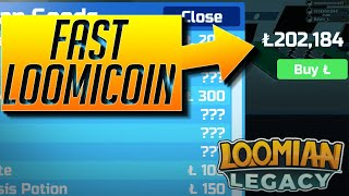 HOW TO GET LOOMICOINS & XP FAST | LOOMIAN LEGACY | ROBLOX