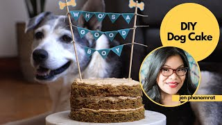 Treat Your Pup to a DIY Dog Cake & Photo