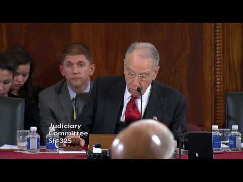 Grassley Questions Attorney General Nominee Sessions on Immigration, Jobs