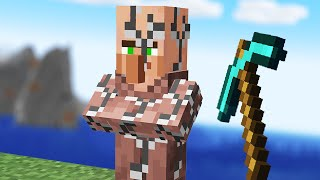 Minecraft but you can Mine villagers