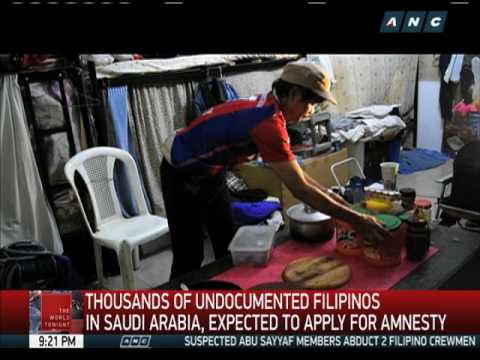Thousands of undocumented OFWs to avail of 90-day Saudi amnesty