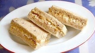 How To Make Tuna And Egg Salad Sandwich