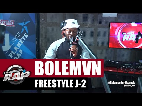 Youtube: Bolémvn – Freestyle J-2 #PlanèteRap