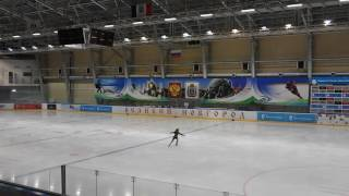 Открытое Первенство Новгородской области по фигурному катанию 1-юношеский