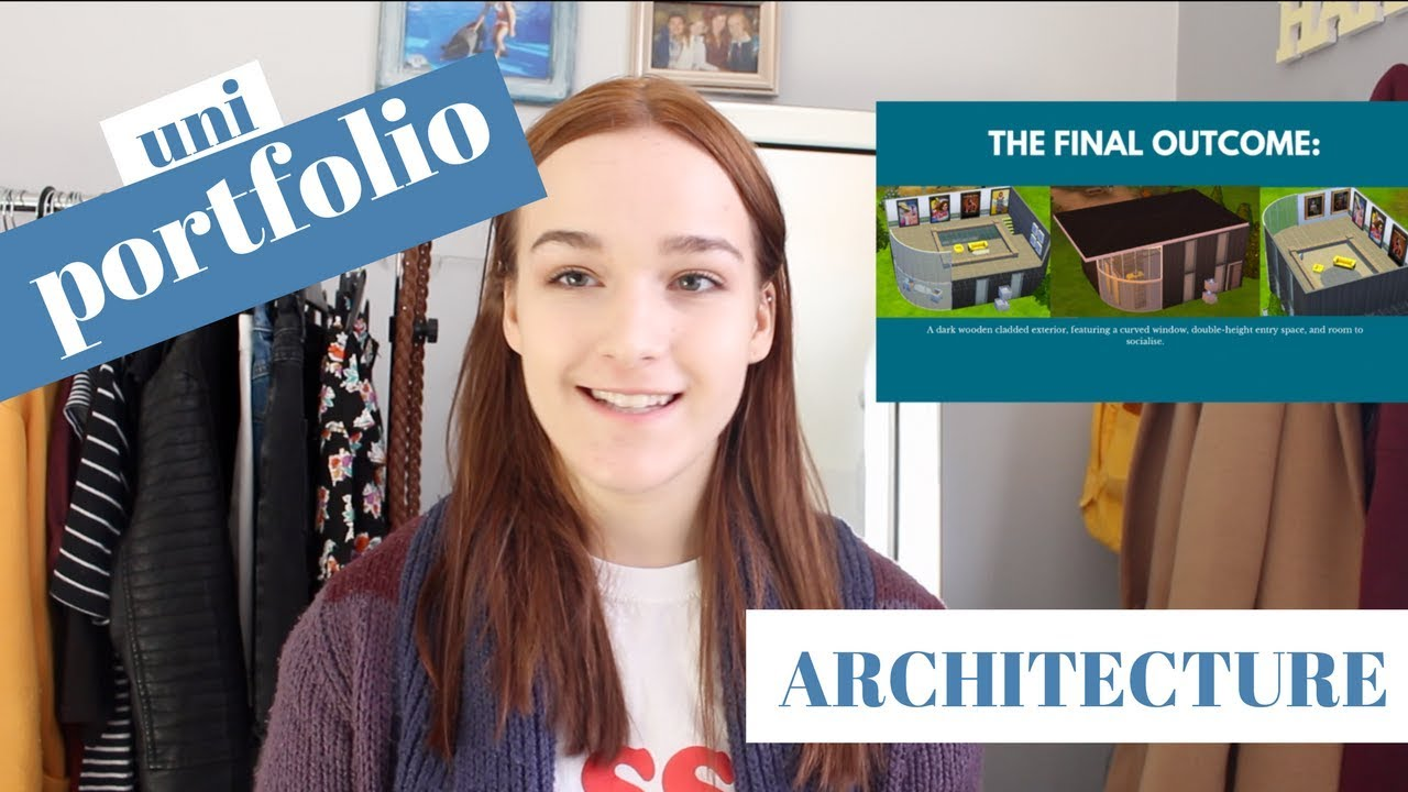 My University Portfolio For Architecture Accepted Jess Louise Youtube