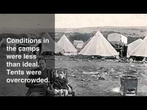 Boer War concentration Camps